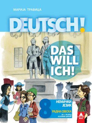 Nemački jezik 8 radna sveska